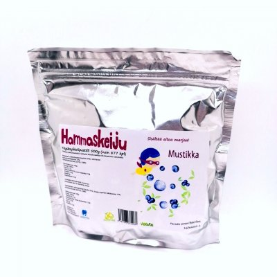 Hammaskeiju Blueberry 500g