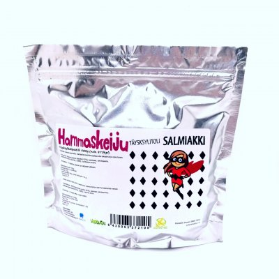 Hammaskeiju Salty licorice (Salmiakki) 500 g
