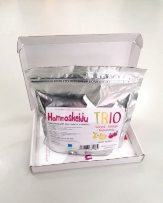 Hammaskeiju Trio 500 g, shipping included