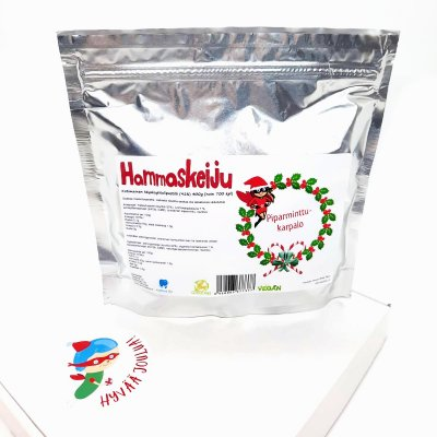 Hammaskeiju Cranberry-peppermint 400 g shipping included